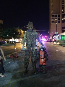 Austin Halloween Night
