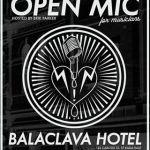 Balaclava open mic