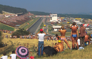 First Hungarian Grand Prix 1986.  Photo Credit:  Bernard Asset
