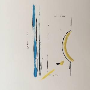 Excavations 8 Print by Brad Vogler