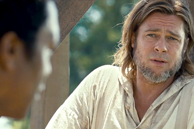 """The only really decent white man in the movie was Brad Pitt, which stands to reason, because everyone knows that all really decent white men are named """"Brad."""""""