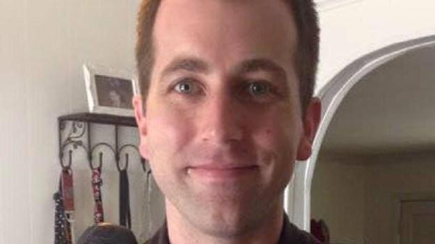 The fallen officer, Greg Alia.