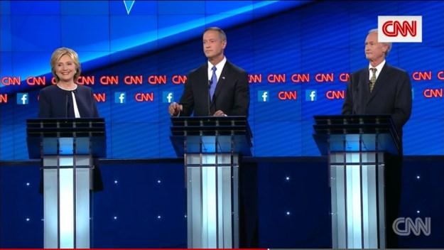 """""""Secretary Clinton, do you want to respond?"""" """"No."""""""