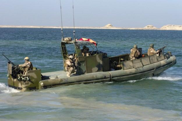 U.S. Navy Small Unit Riverine Craft (SURC)