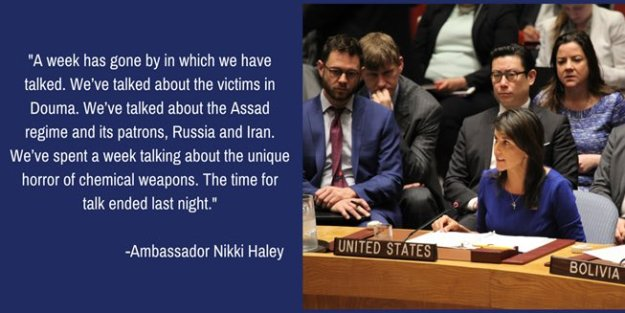 An image from Nikki Haley's Twitter feed...