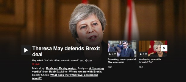 The BBC's all about Brexit today. Meh...