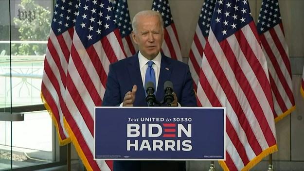 Joe speech