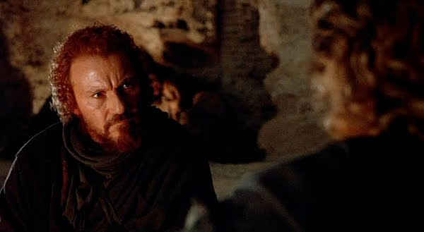 Harvey Keitel as the Judas-haired betrayer in 'The Last Temptation of Christ'