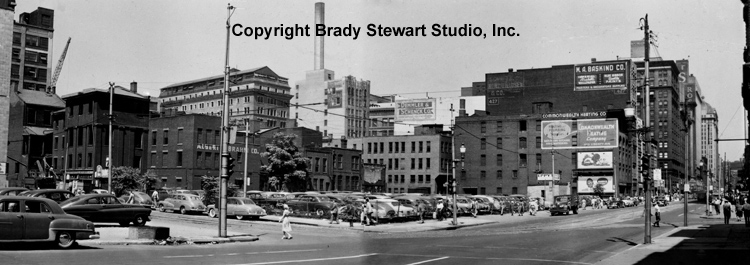 Historical Pittsburgh Photographs of the Point-Area Before Gateway Center (4/6)