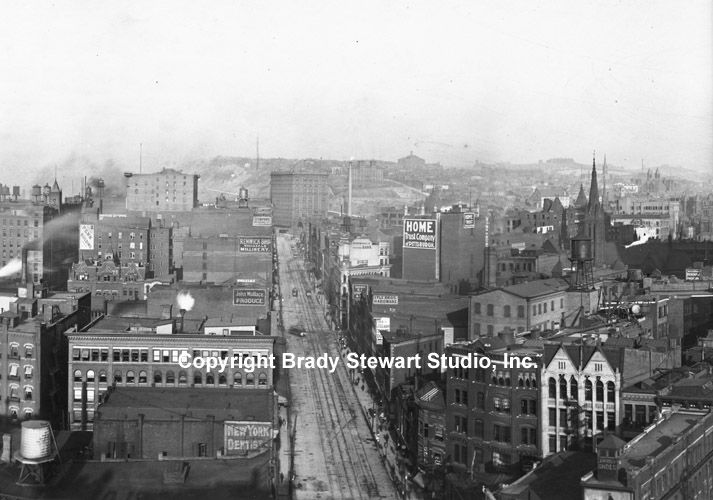 Historical Photographs of the Pittsburgh Skyline - 1904 (3/4)