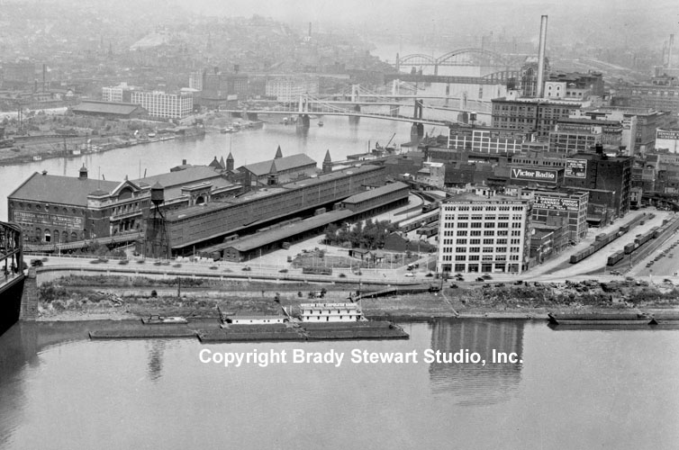 Historical Pittsburgh Photographs of the Point-Area Before Gateway Center (3/6)