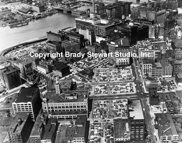 Historical Pittsburgh Photographs of the Point-Area Before Gateway Center (6/6)