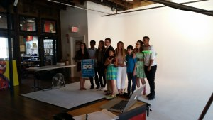 Devon Ragolia, Dhruv Mohnot, Jenaya Vann, Elias Randall, Blair Isken, Ariel Friedlander, Hope Abbott, Jonathan Scurato and Braeden Mannering at the 20 Under 20 photo shoot