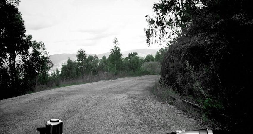 Bicicleta na estrada