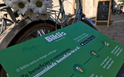 """Biklio, a """"app"""" que recompensa quem vai de bicicleta, chega a Braga"""
