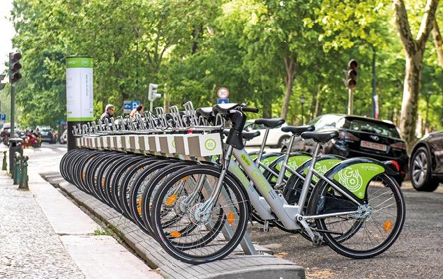 Bicicletas partilhadas GIRA - Lisboa