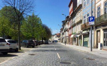 Braga - Avenida Central em tempo de pandemia COVID-19