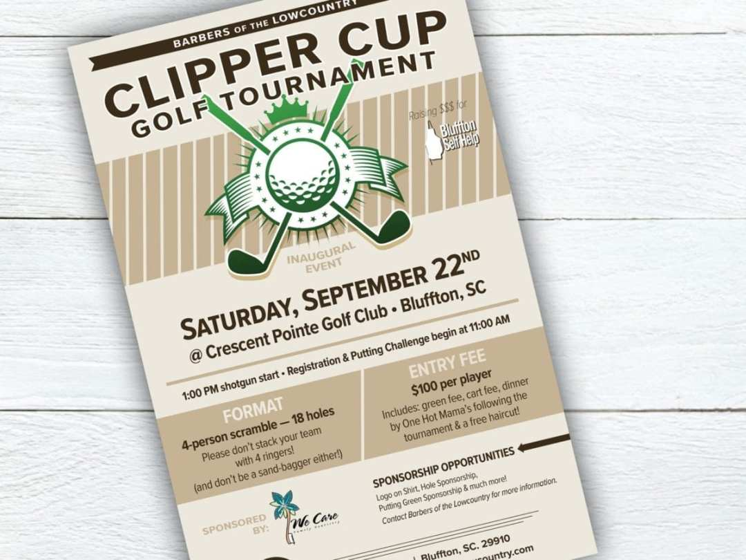 Clipper Cup Golf Tournament Poster