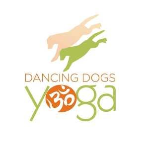 Logo for Dancing Dogs Yoga Studio in Bluffton SC