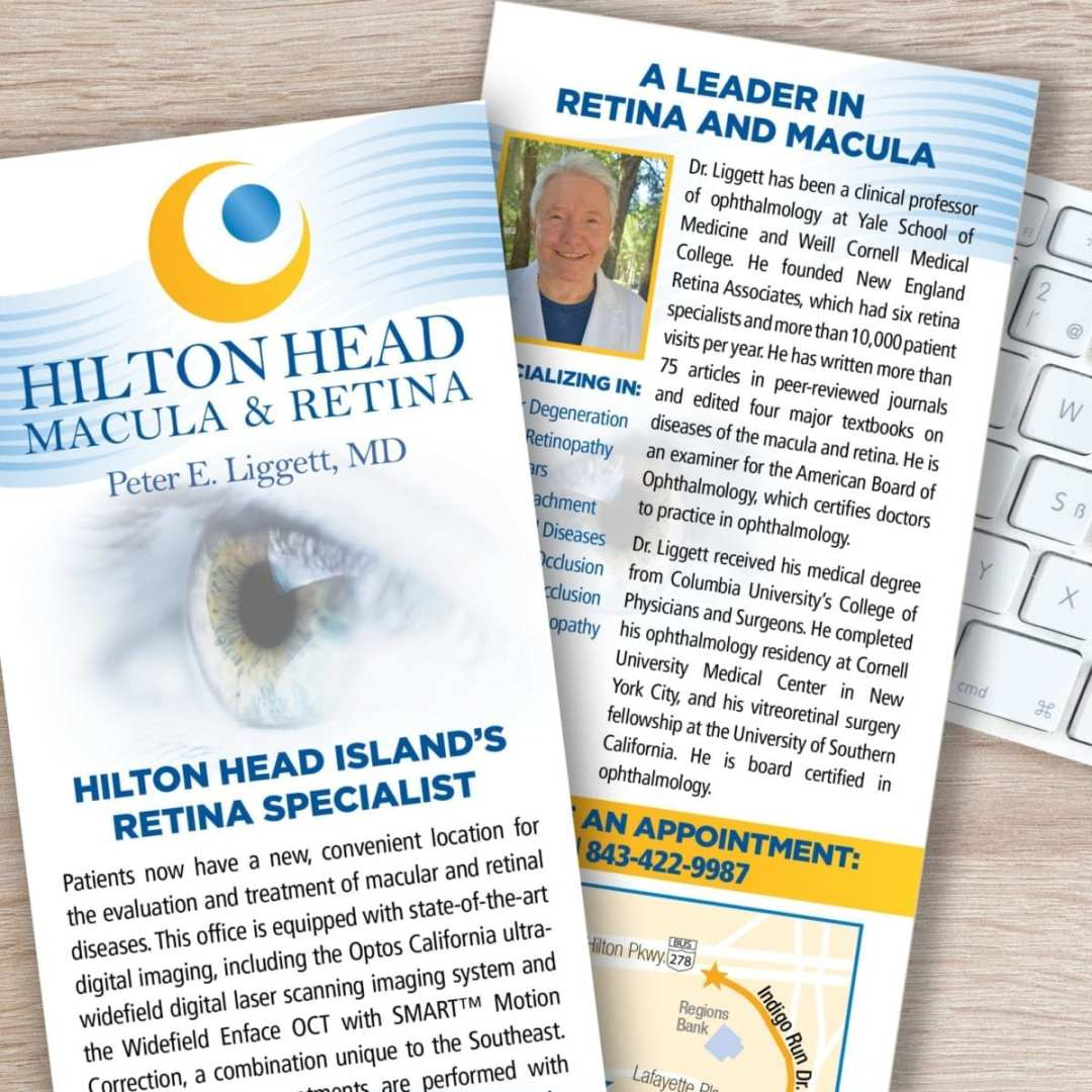 Hilton Head Macula & Retina Rack Card