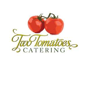 Logo for Two Tomatoes Catering on Hilton Head Island