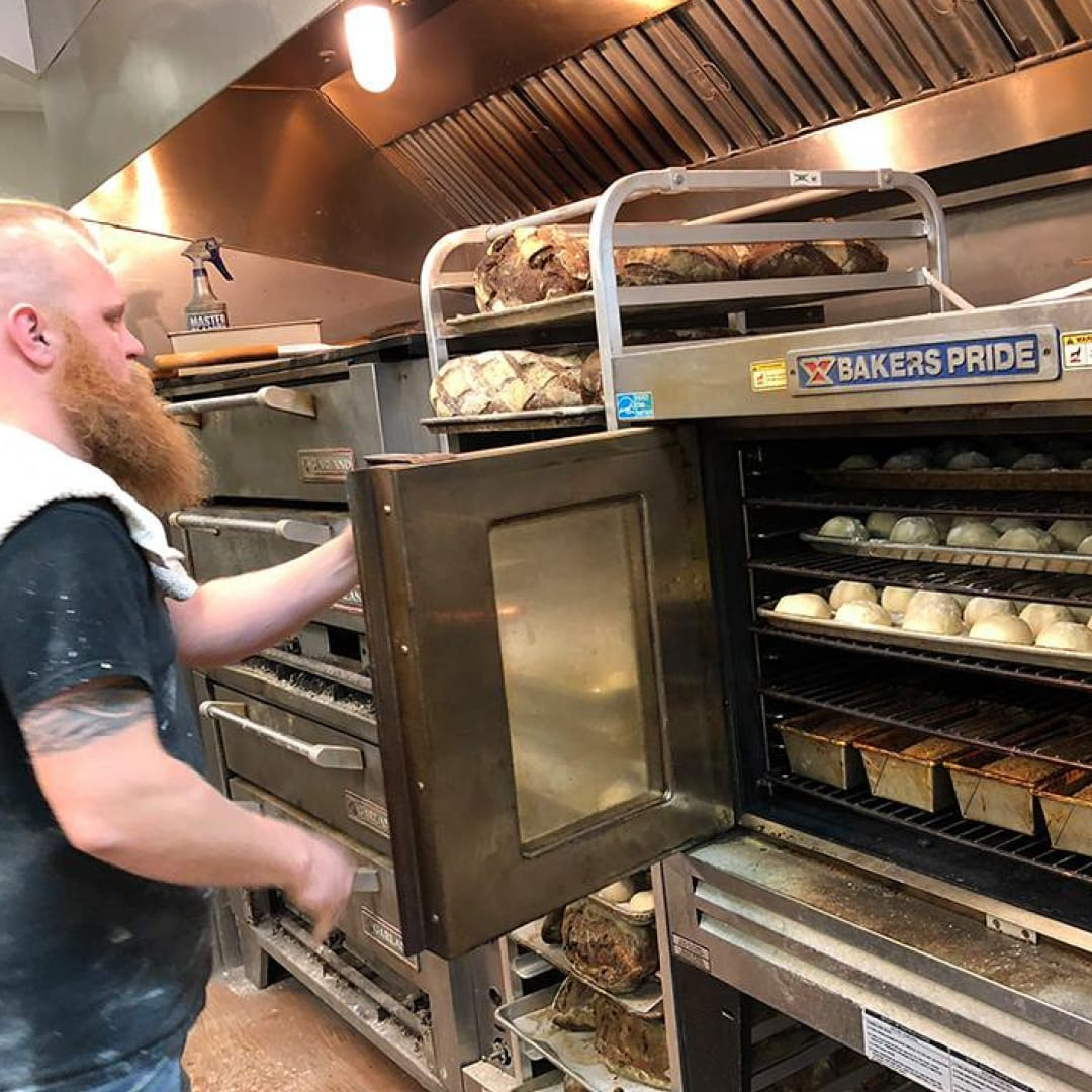 Ryan Fennessey, Head Baker of Sprout Momma Breads