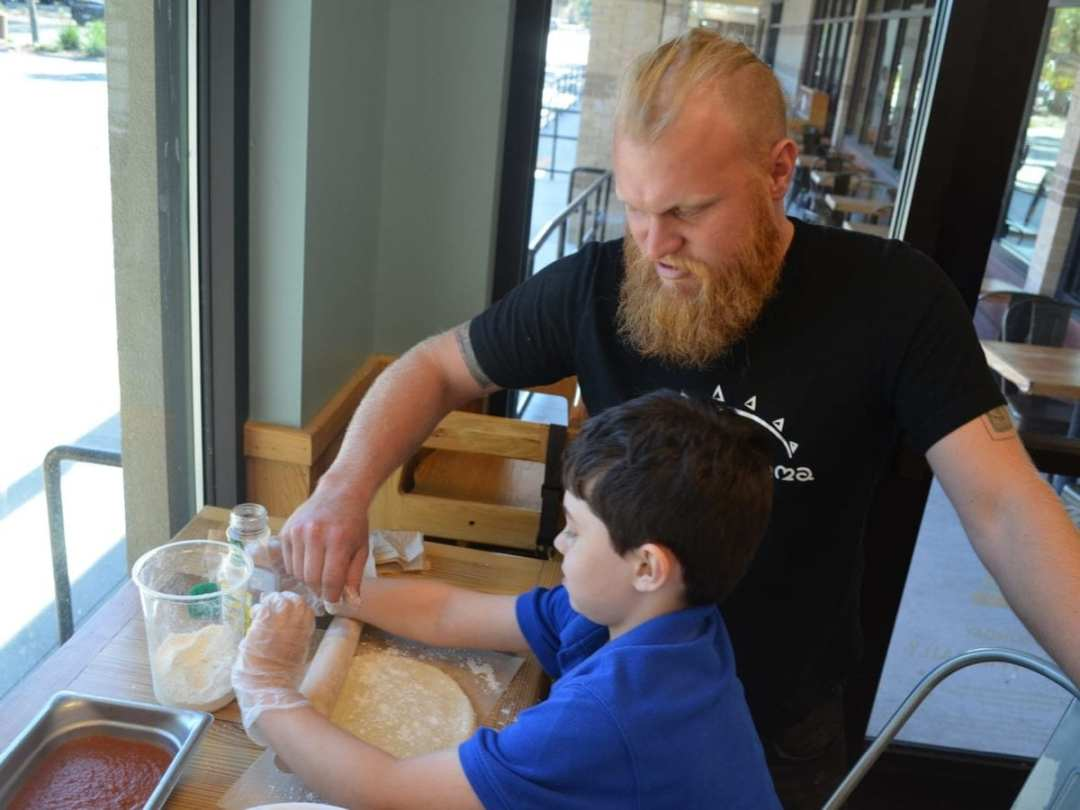 Sprout Momma Kids in the Kitchen Event