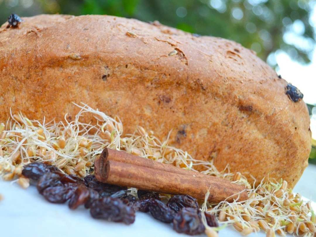 Sprout Momma Cinnamon Raisin Bread