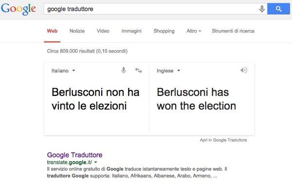Berlusconi vince sempre!