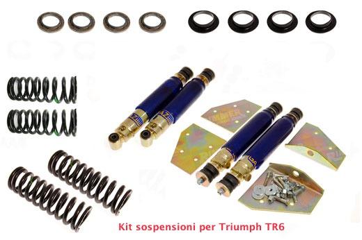 Kit sospensioni sportive per Triumph TR6