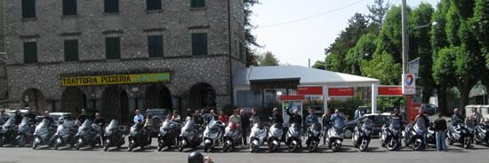 La foto sulla piazza di Capranica