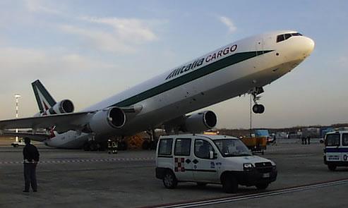 La crisi dell'Alitalia: ormai è a terra!