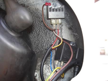La bobina ed il regolatore del Vespatronic
