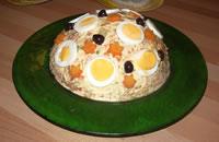 Insalata russa con uova sode