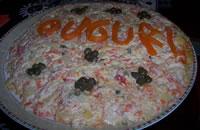 Auguri con l'insalata russa