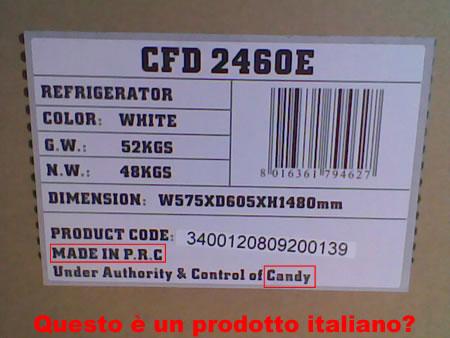 Prodotto italiano?
