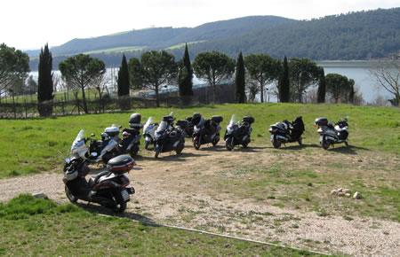 Silver Wing durante la gita ad Orvieto