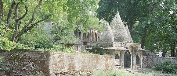 Ashram où les Beatles ont séjournés à Rishikech, Inde