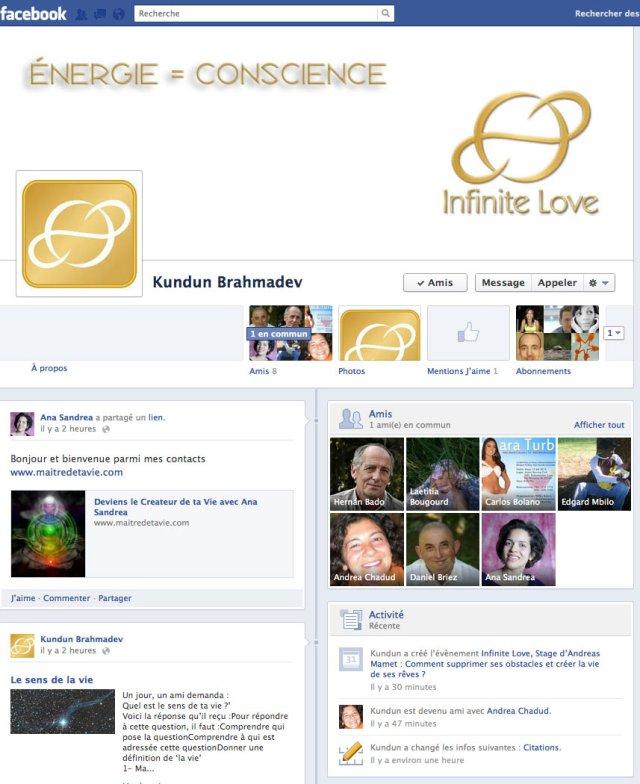 facebook INFINITE LOVE
