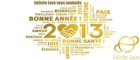Infinite Love, Carte Meilleurs voeux et bonne année 2013