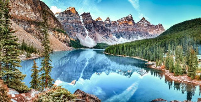 Mountain and Nature in Canada