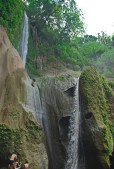 """Not to be confused with two other """"Ambon-ambon"""" Falls--one in Pangil, Laguna and the other in Bagac, Bataan--this one in Laurel, Batangas is two-tiered."""