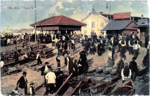 Istoria portului Braila