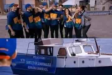 Trupa G-Buzz si dansul popular brailean