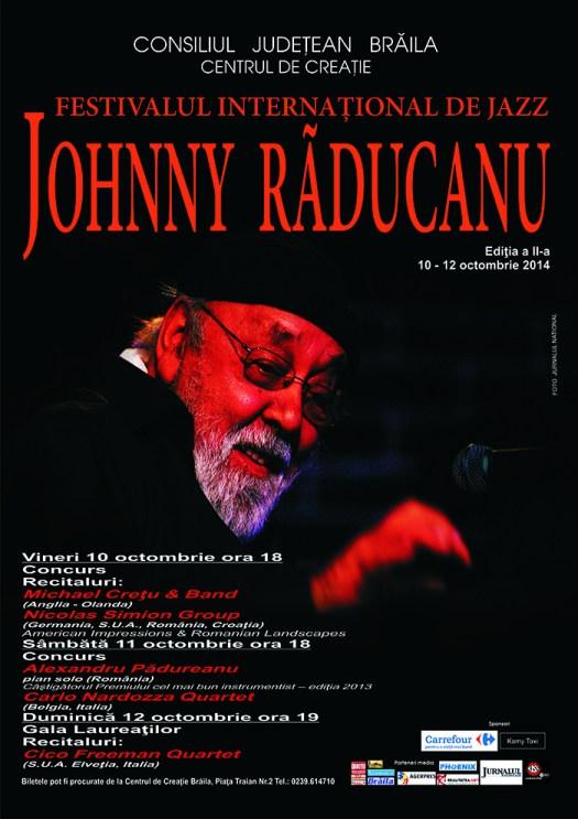 Braila gazduieste ediția a II-a a Festivalului Internațional de Jazz Johnny Răducanu