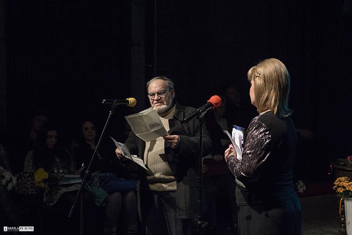 Hugo Maracineanu Gala Premiilor Culturale Brailene