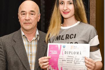 Cosmina-Elena Spânu, eleva Şcolii Populare de Arta Vespasian Lungu