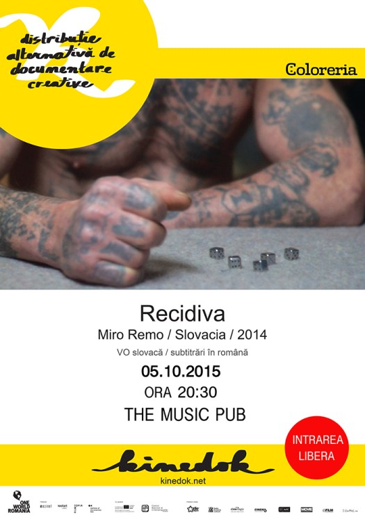 KINEDOK - Recidiva, un nou documentar la The Music Pub
