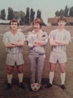 Cristi Rusu , doctorul Marius Toader si Gigi Negoita  FCM Braila 1990