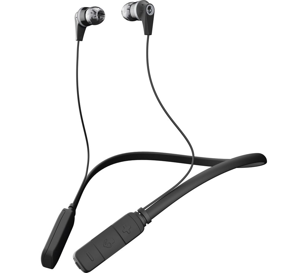 medium resolution of buy skullcandy ink d wireless bluetooth headphones black grey free delivery currys